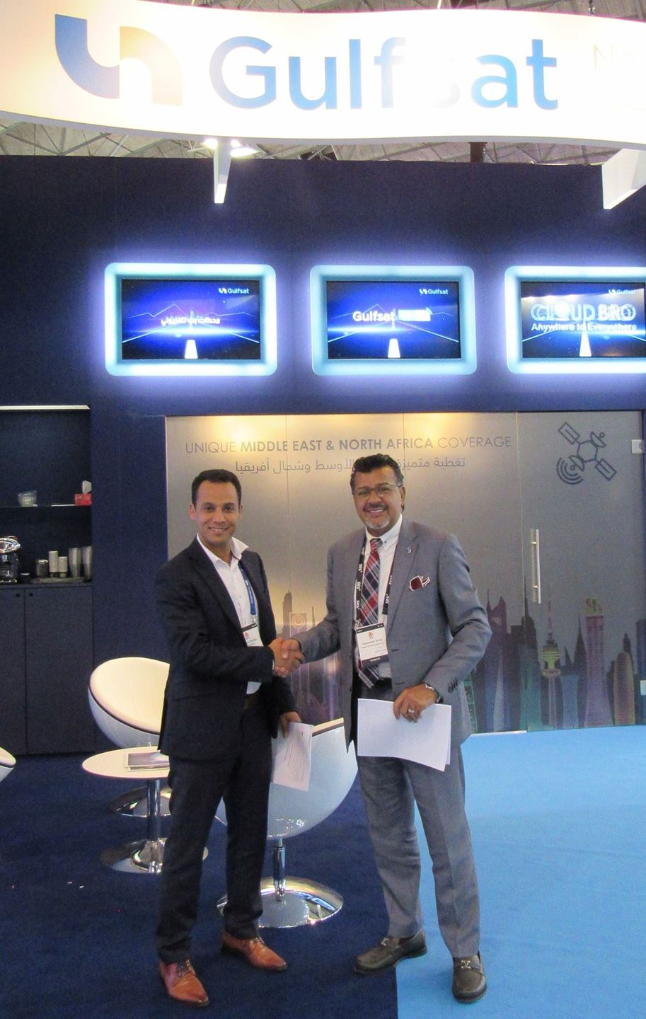 Gulfsat Join Forces with Easy Broadcast to Provide Multichannel Digital Experience on for TV Channels, OTT Players and Enterprises
