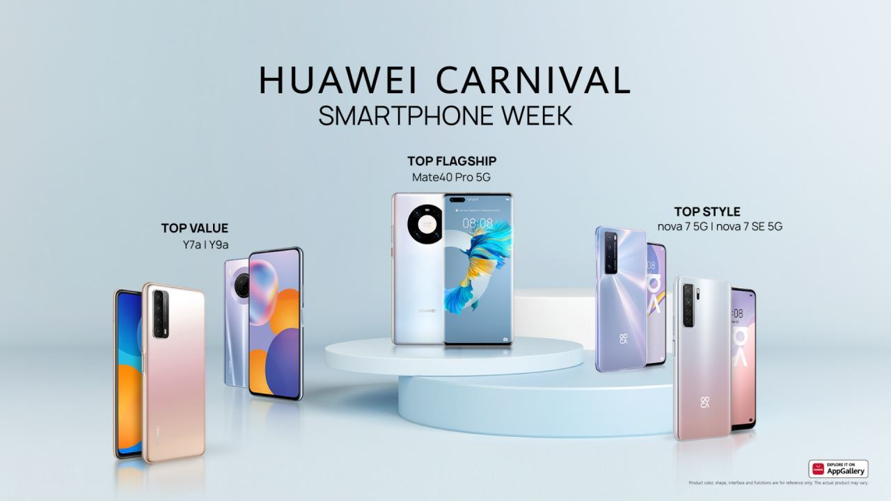 How Huawei manages different types of users with an innovative Smartphones portfolio
