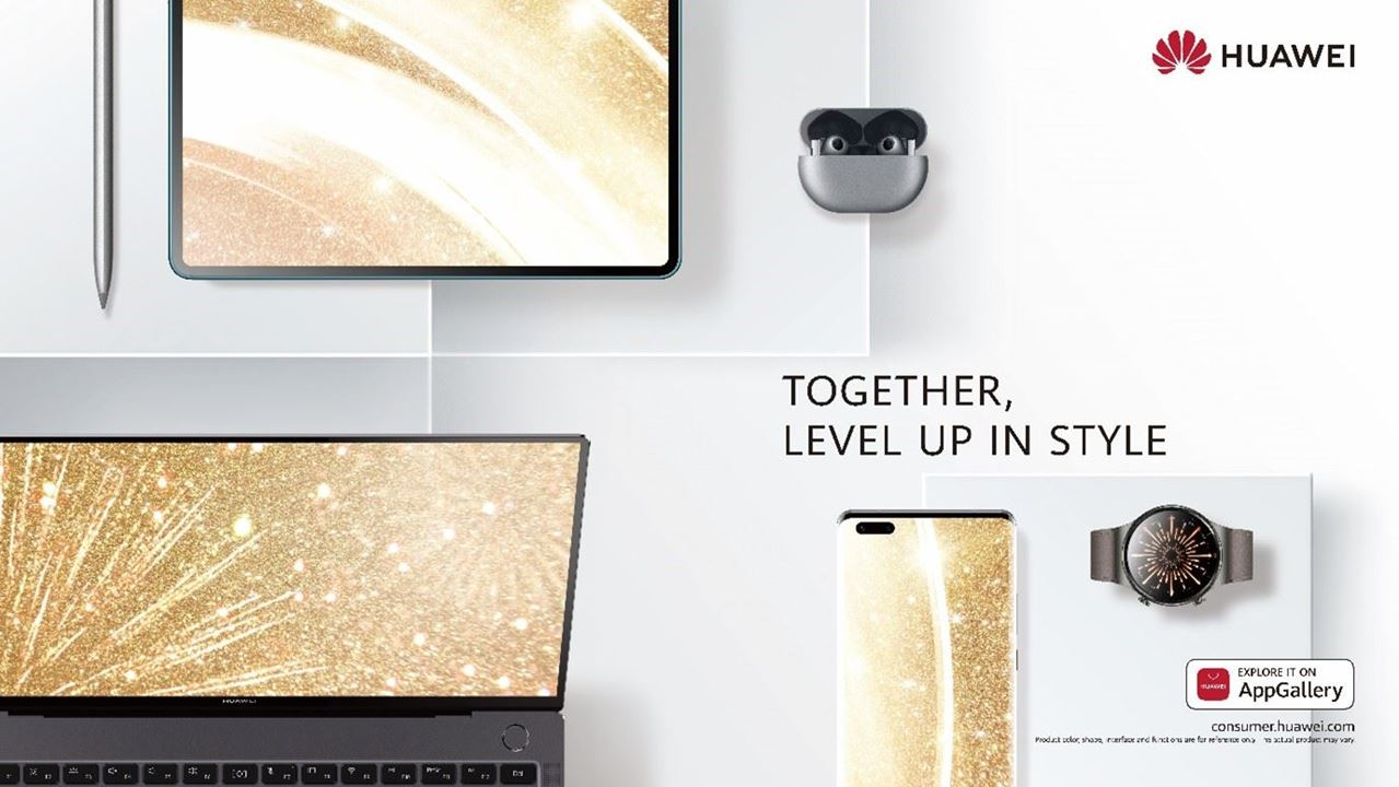 Kickstart your New Year's fitness resolutions and stick to them with Huawei devices in your arsenal