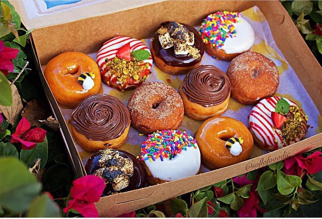 Honey Bee Mouthwatering Doughnuts in Miami Florida