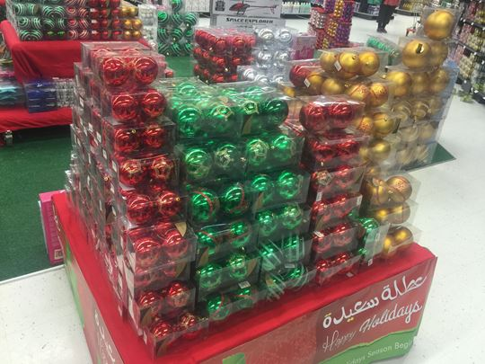Christmas Decoration at Sultan Center Hawally and Souk Sharq