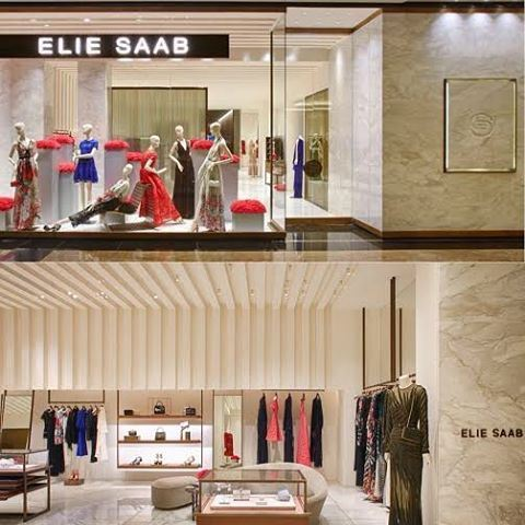 Elie Saab opens new boutique in Mall of Emirates