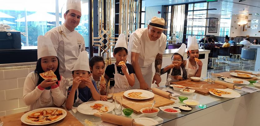 Café Society provides day time fun for young guests