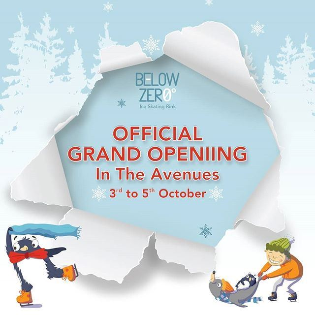 Below Zero Open at The Avenues Mall