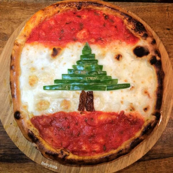 See this Lebanese Flag Pizza