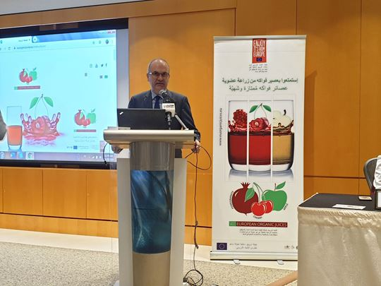"""""""Organic European Juice"""" Lands in Kuwait … the Highly Potential Market!"""