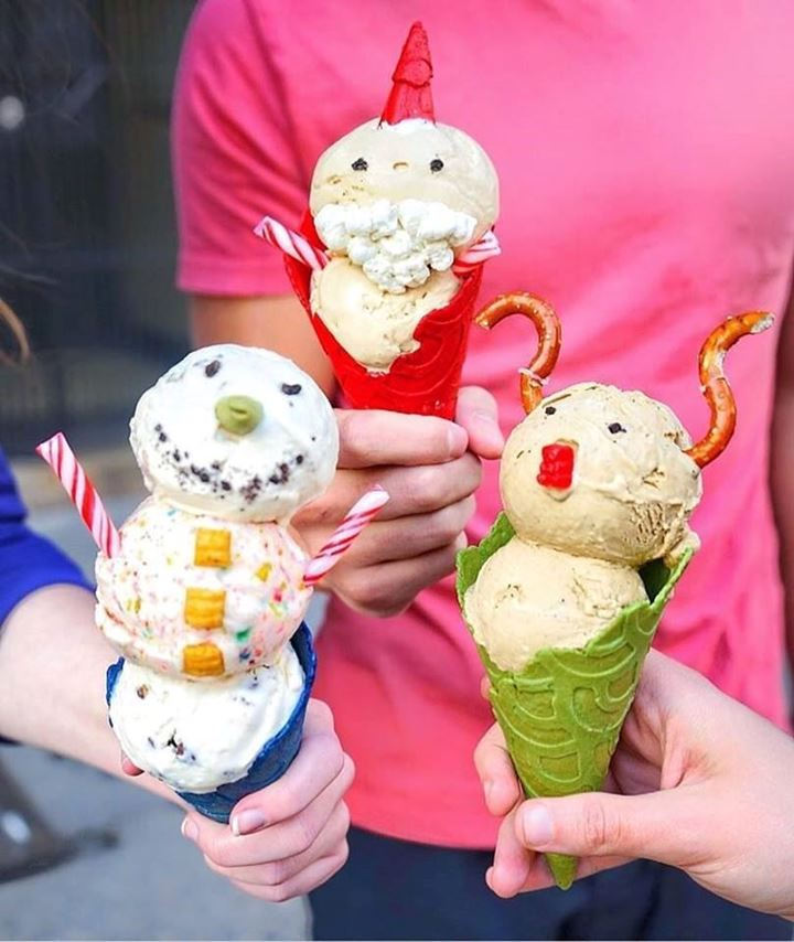 Stuffed Ice Cream in New York City
