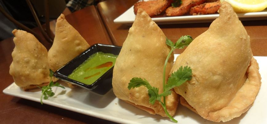 What is that green sauce served in Indian restaurants?