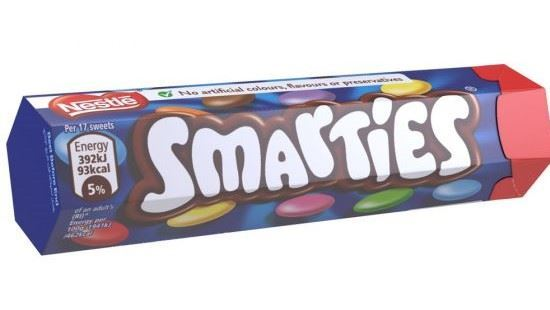 Smarties Chocolate