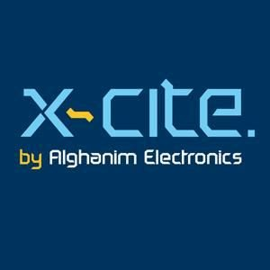 Logo of Xcite by AlGhanim Electronics