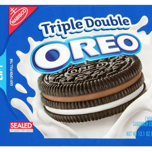 Logo of Nabisco Oreo Triple Double Chocolate