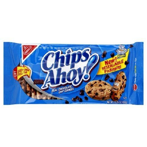 Logo of Nabisco Original Chips Ahoy Chocolate Cookies