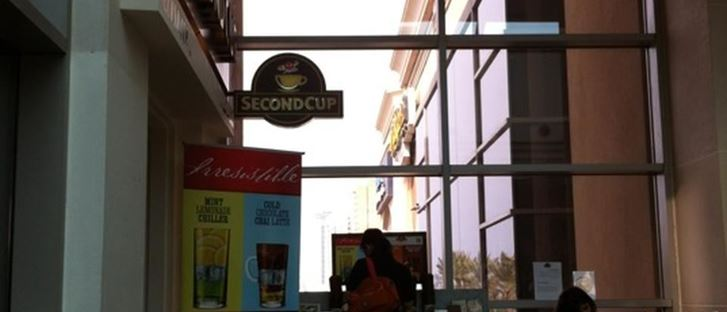 Cover Photo for Second Cup Cafe - Salmiya (Marina Mall) Branch - Kuwait