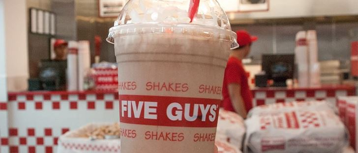 Cover Photo for Five Guys Restaurant - Mahboula (Light Complex) Branch - Kuwait